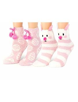 Red Bene Women's Animal Fuzzy Socks by Red Bene