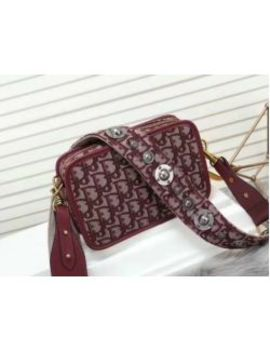 Women's Dioraddict Oblique Canvas Handbag Clutch Purses by I Offer