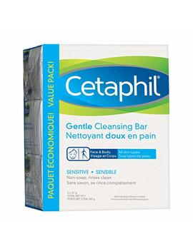 Cetaphil Gentle Cleansing Bar (Pack Of 3), 127g, 3 Count by Amazon