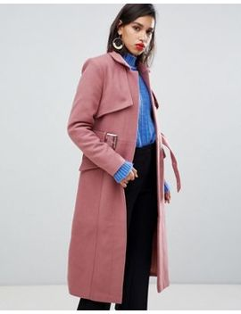 Y.A.S Belted Wool Coat by Y.A.S.