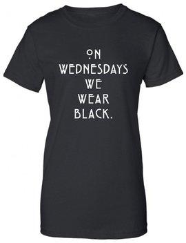 El Miércoles Nos Ponemos La Camiseta Negra, Camiseta Satánica, Programa De Televisión, Goth, Salve Satanás, Cráneo Fresco Regalo Hombre Mujer Botín Dt 642 by Etsy