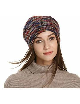 Pawya Winter Knit Beanie Thick, Soft, Warm Chuck Hats Unisex For Men And Women by Pawya