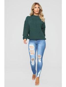 Back At It Again Skinny Jeans   Medium Blue Wash by Fashion Nova