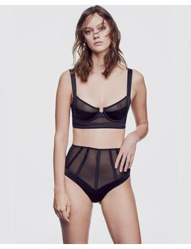 Iconic Expose Longline Bra by Journelle Only Hearts Livy Coco De Mer Dita Von Teese