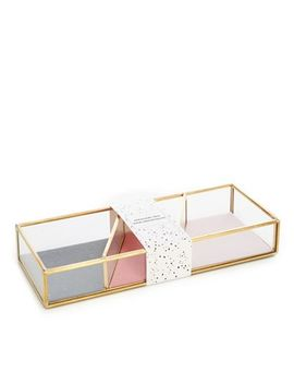 Luxe Edit   Jewellery Tray With Compartments by Luxe Edit