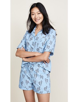 Sleep To Dream Sea Horse Pj Set by Only Hearts
