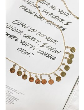 Fast Glamour Necklace // Gold by Vergegirl