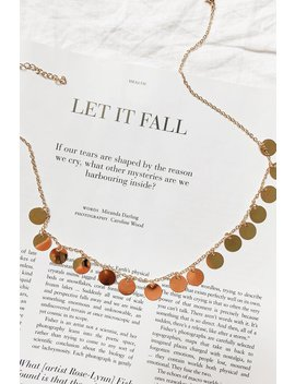The Holy Grail Necklace // Gold by Vergegirl