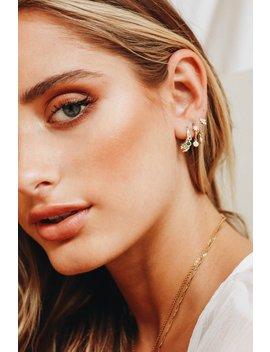 Maya Earrings // Gold by Vergegirl