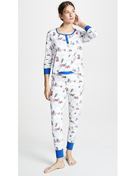 X Peanuts® Winter Holiday Pj Set by Bedhead