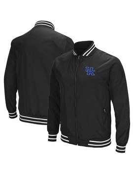 Kentucky Wildcats Colosseum Blade Full Zip Jacket   Charcoal by Colosseum