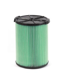 5 Layer Allergen Pleated Paper Filter For 5.0 Plus Gal. Ridgid Wet/Dry Vacs by Ridgid