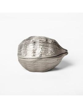 Decorative Walnut Box   Silver   Threshold™ by Threshold™