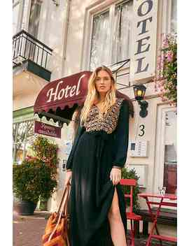 Heart's Desire Embroidered Midi Dress by Free People