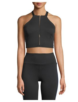 Axial Strappy Back Performance Bustier by Neiman Marcus