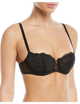 Pyramide Unlined Lace Demi Bra by Chantelle