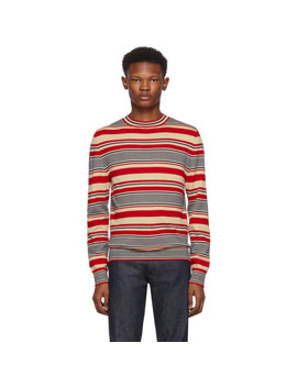 Red Scott Crewneck by A.P.C.