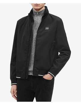 Men's Ribbed Jacket by Calvin Klein