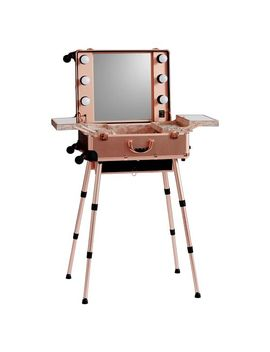 Benefit Gorgeous Travel Vanity, Rose Gold by P Bteen
