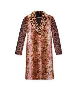 Jaguar And Cheetah Print Coat by Tom Ford