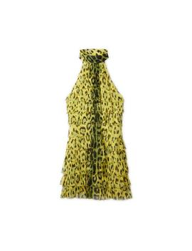 Jaguar Halterneck Mini Dress by Tom Ford