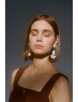 Paloma Wool Marili Earrings   Nacre/Stone by Garmentory