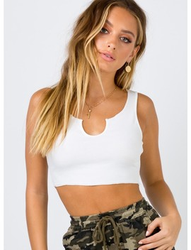 The Liaison Crop Top by Princess Polly