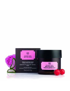 The Body Shop British Rose Fresh Plumping Expert Face Mask, 100 Percents Vegan   75ml by Amazon