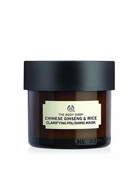 The Body Shop Chinese Ginseng & Rice Clarifying Polishing Face Mask   75ml by Amazon