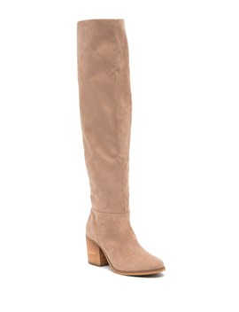 Madison Faux Suede Over The Knee Boot by Abound
