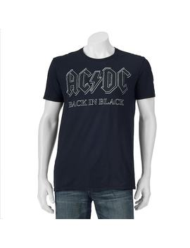 Men's Ac/Dc Black In Black Tee by Kohl's