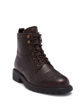 Fernie Leather Boot by H By Hudson