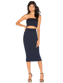 Lida Strapless Set by By The Way.