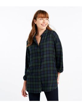 Rangeley Flannel Tunic, Plaid by L.L.Bean