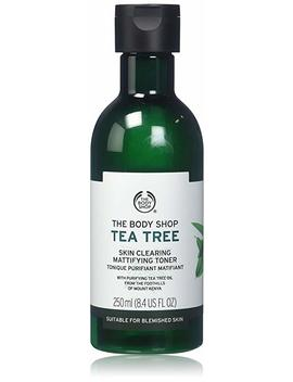 The Body Shop Tea Tree Oil Skin Clearing Mattifying Facial Toner   250ml by Amazon