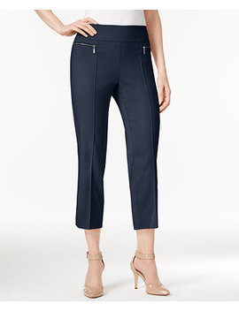 Petite Pull On Cropped Pants, Created For Macy's by Style & Co