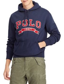 Logo Fleece Hoodie by Polo Ralph Lauren