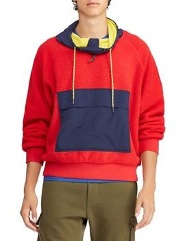 Hi Tech Fleece Hoodie by Polo Ralph Lauren