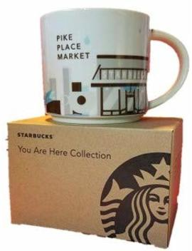 Starbucks You Are Here  Pike Place Market Mug, 14 Fl Oz (011023936) by Starbucks