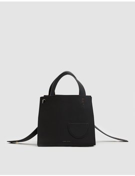 Margot Square Bag In Black by Danse Lente