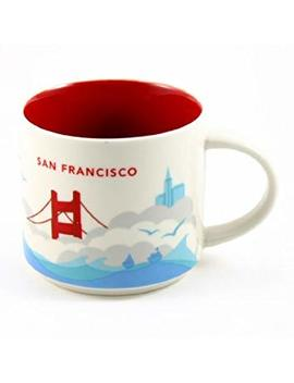 "Starbucks San Francisco You Are Here Collection Mug by ""You Are Here"" Collection"