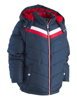 Big Boys David Hooded Puffer Jacket by Tommy Hilfiger