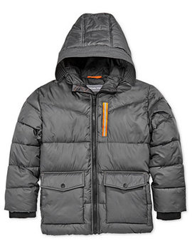 Big Boys Hooded Puffer Jacket by Michael Michael Kors