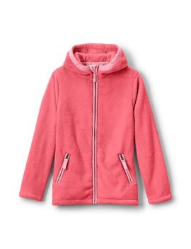 Toddler Girls Softest Fleece Jacket by Lands' End
