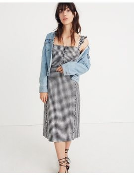 Gingham Pencil Skirt by Madewell