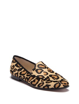 Leon Leopard Print Calf Hair Flat by Sam Edelman