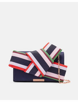 Bay Of Honour Knot Bow Evening Bag by Ted Baker