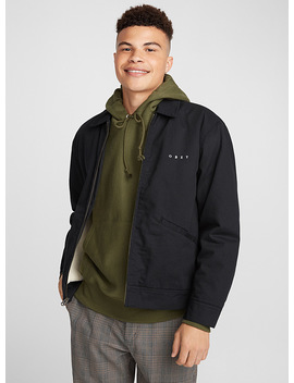 Twill And Sherpa Trucker Jacket by Obey