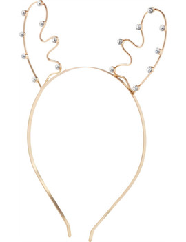 Metal Reindeer Headband by Riviera