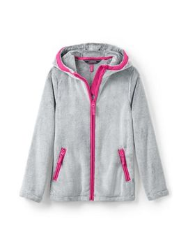 Little Girls Softest Fleece Jacket by Lands' End
